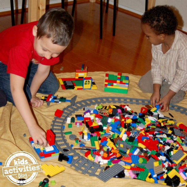 LEGO play mat for kids - Kids Activities Blog