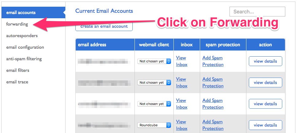 how to create an email with your domain name