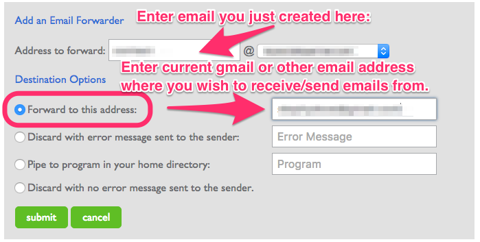 How to Setup Your Email with Your Domain Name - Holly Homer