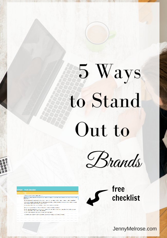 Are you ready to reach out to brands? Want to stand out? These 5 Traits will naturally have you stand out to brands.
