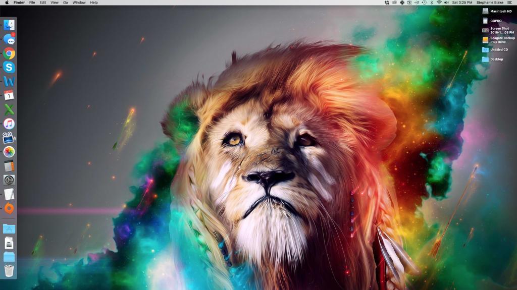 Squeaky Clean Desktop
