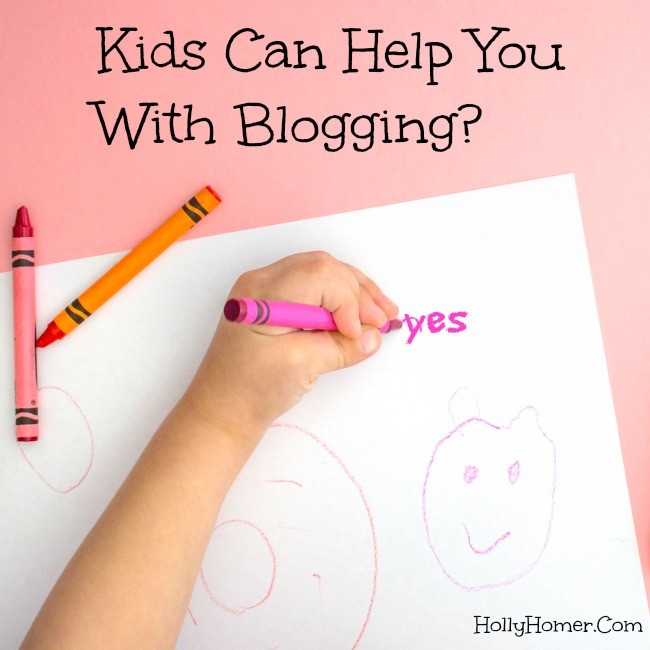 Kids Can Help you With Blogging