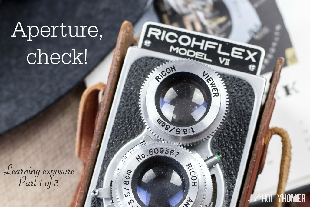 DSLR Aperture - Understanding exposure to create beautiful pictures for your blog