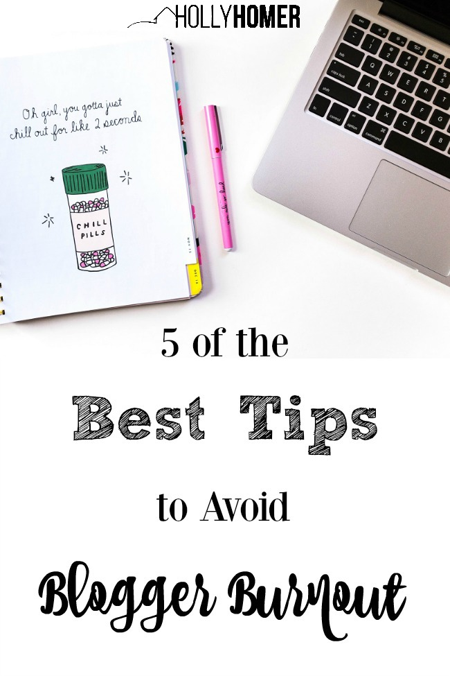 These tips to avoid blogger burnout really help!