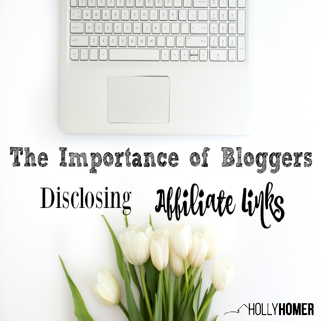 The Importance of Bloggers Disclosing Affiliate Links