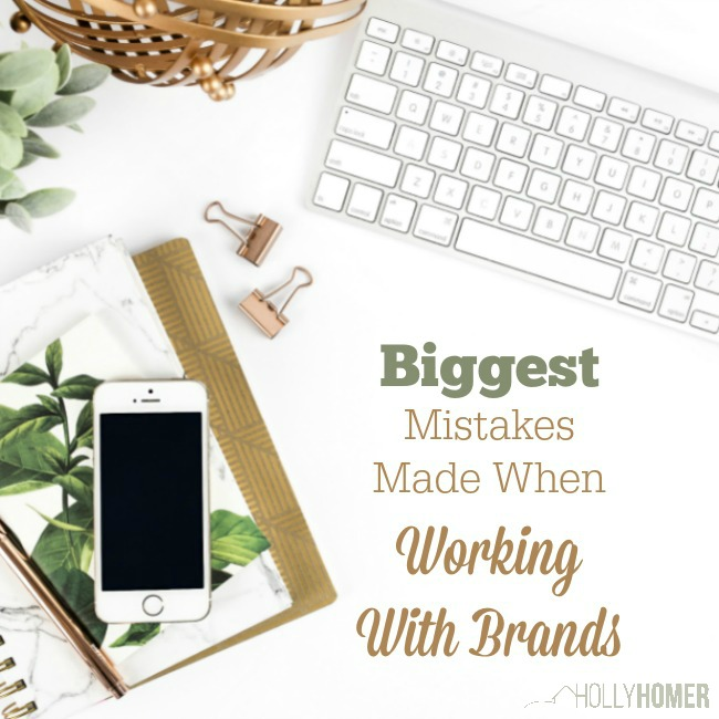 Biggest Mistakes make Working with Brands