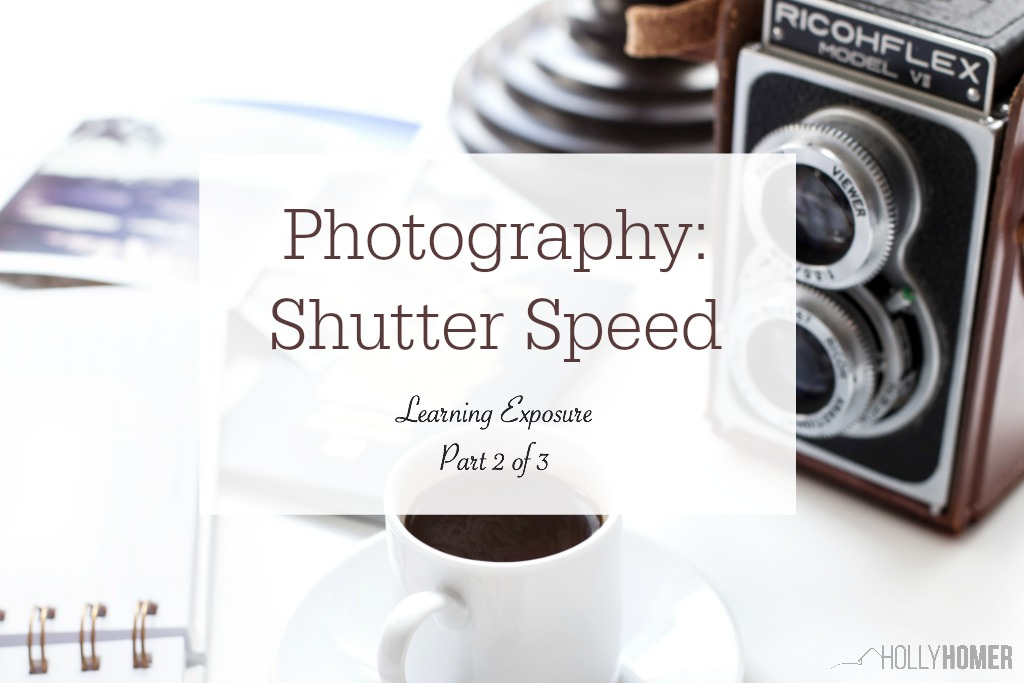 Understand shutter speed on your digital camera