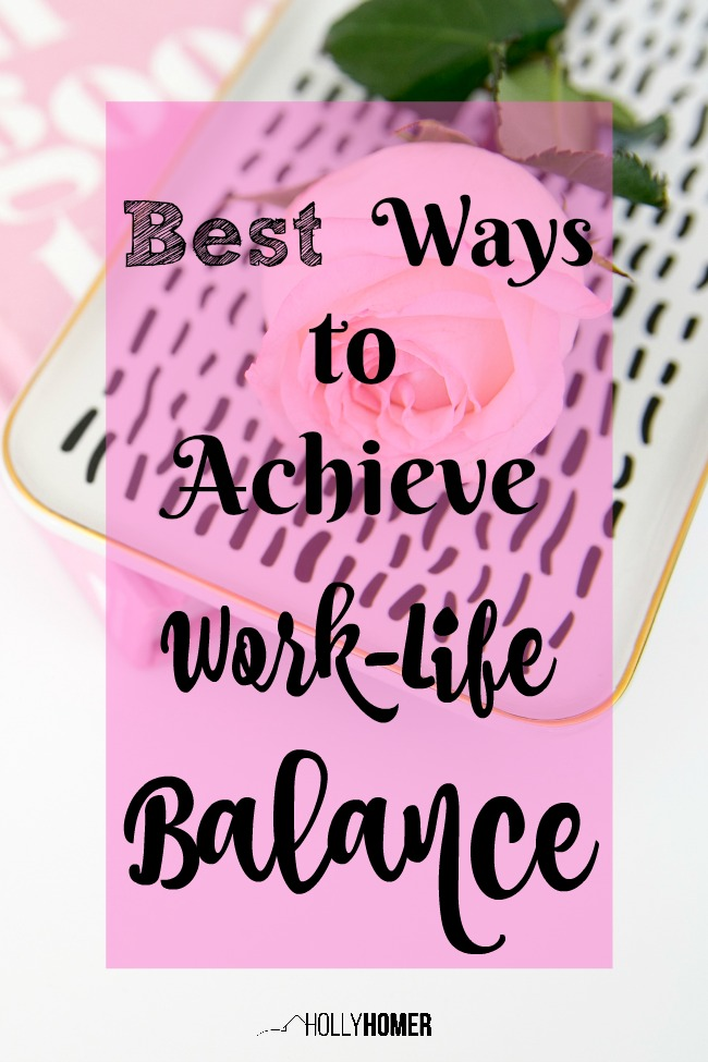 I'm always looking for tips to help me achieve work-life balance, so glad I found this post!