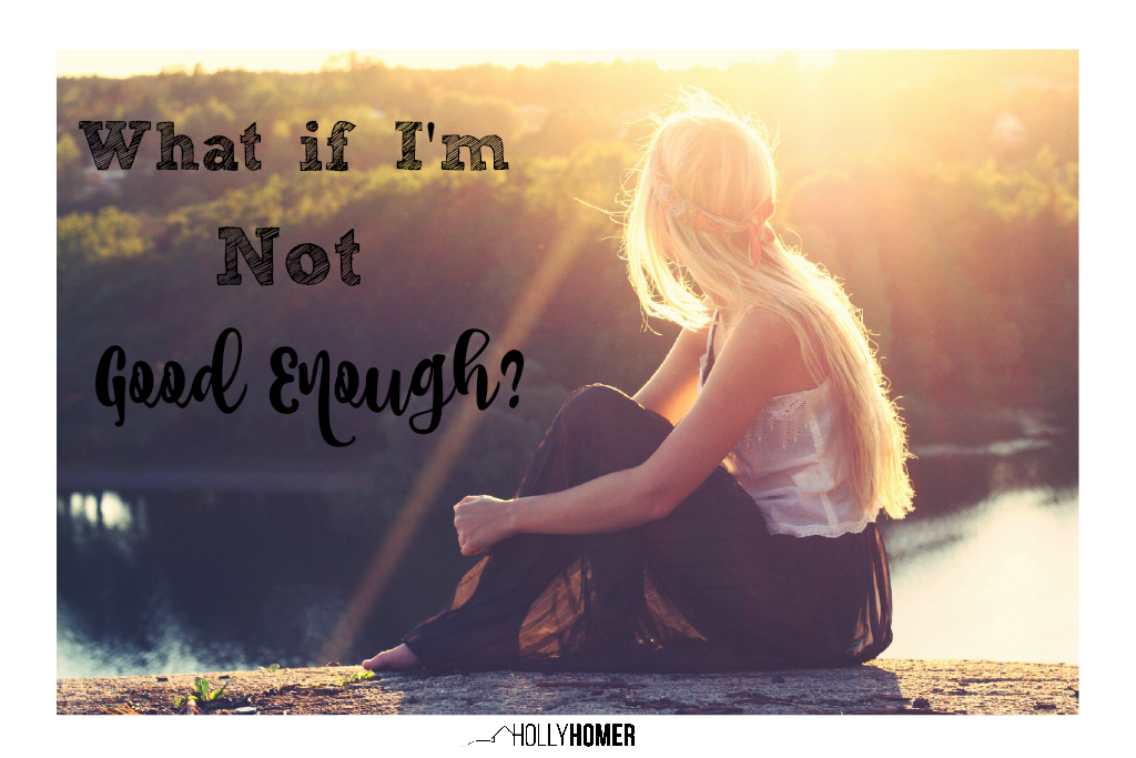 Do you worry about being a 'good enough' blogger?
