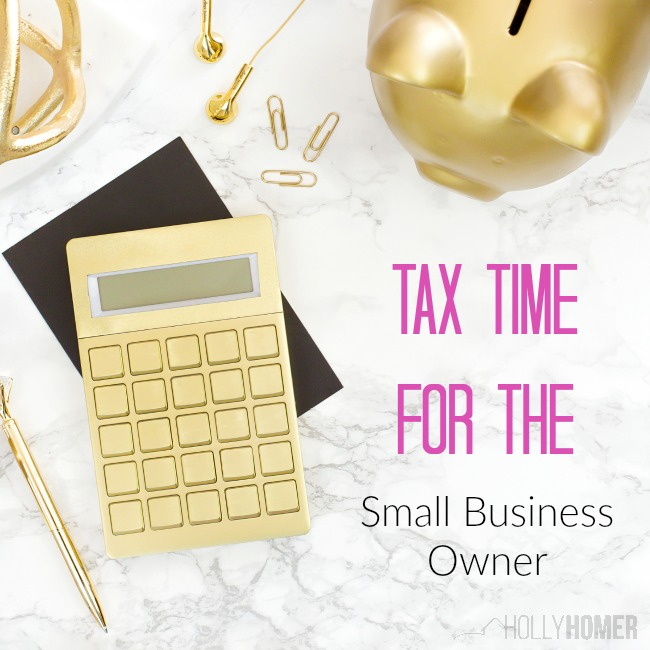 Taxes and the small buisness owner
