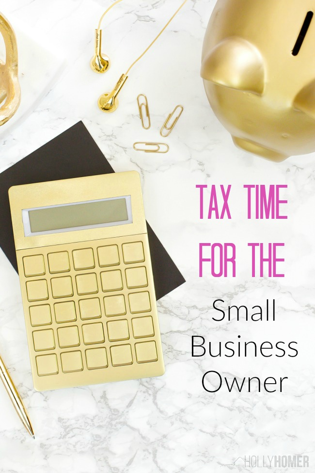 Tax Time for the Small Business Owner