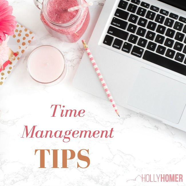 Time Management Tips for Bloggers