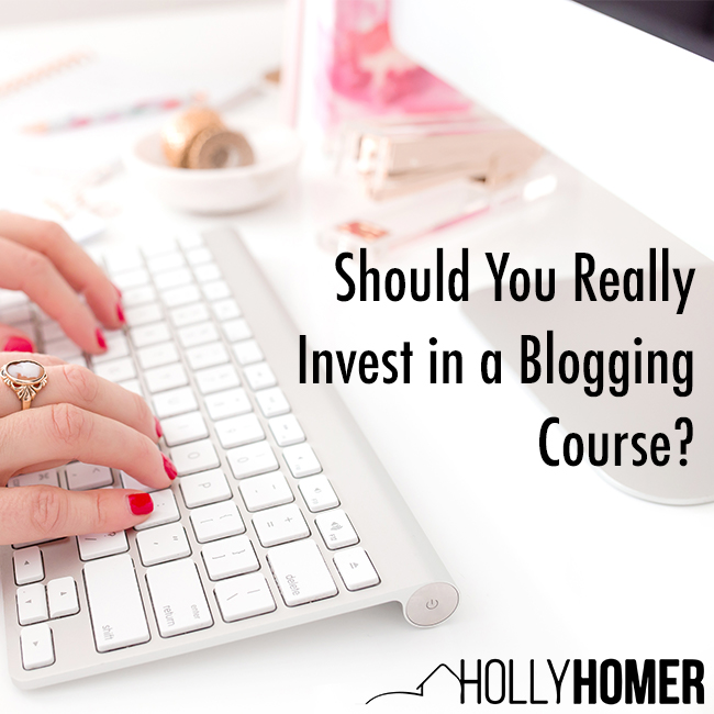Should You Really Invest in a Blogging Course