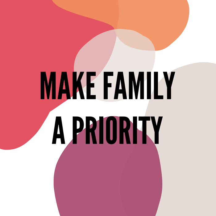How to Make Family A Priority When You Work at Home