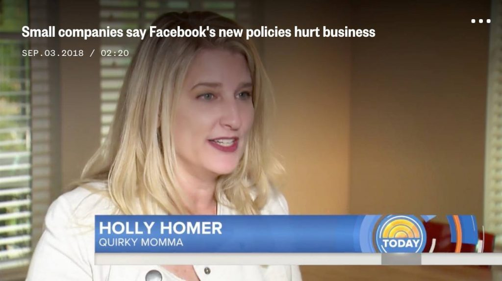 Holly Homer on the Today Show