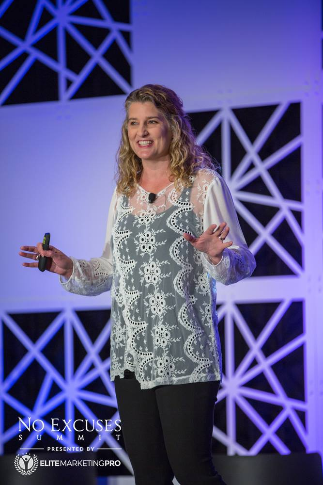 Holly Homer Speaking at No Excuses Summit