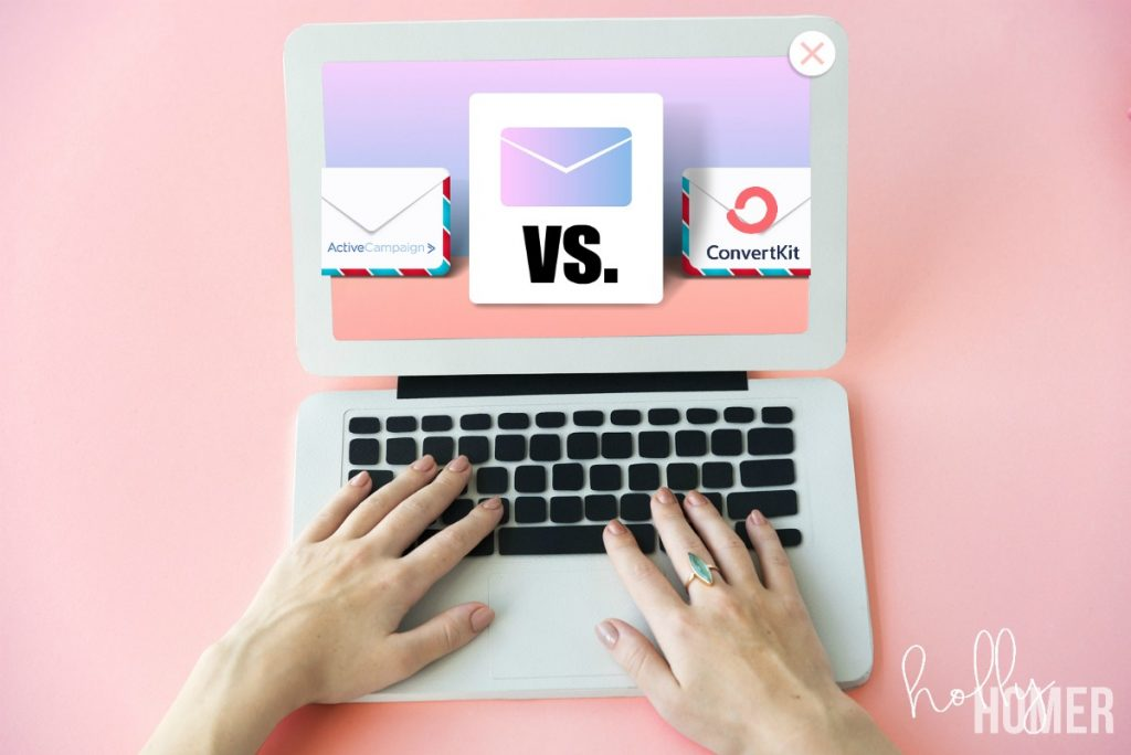ActiveCampaign vs. ConvertKit email marketing