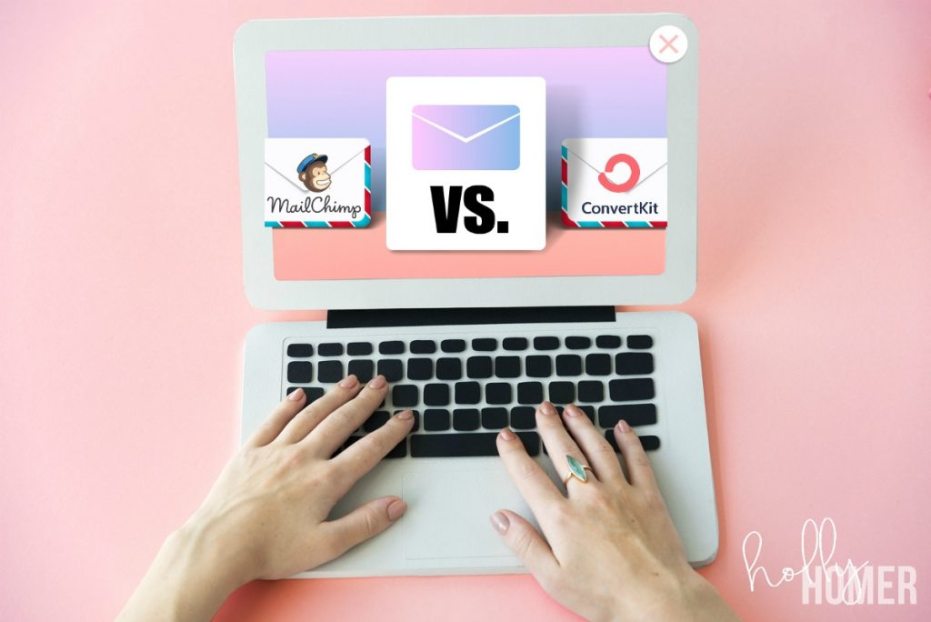 MailChimp vs. ConvertKit email marketing