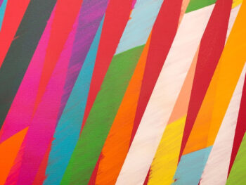 Holly Homer dot com feature art 2 - colorful striped art